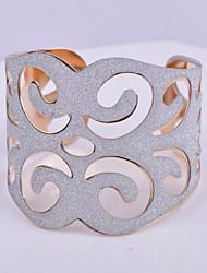 Manchettes Bracelets (Alliage/Plaqué argent/Plaqué or) Soirée/Quotidien/Décontracté