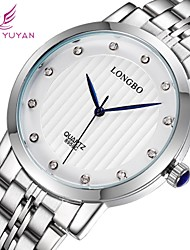Fashion Luxury Steel Rhinestone Men Watch Japan Quartz Movement Business Waterproof Wristwatch