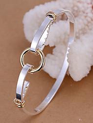 Goud/Zilver Dames Ronde Armbanden Armbanden