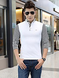 Banuo Men's Fashion Casual Long Sleeve T-shirt