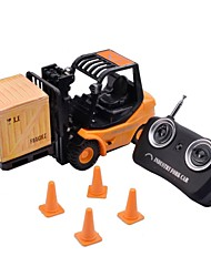 Mini Desktop 3-CH Radio Remote Control Engineering Forklift Toy