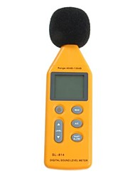 New Yellow USB Digital Sound Noise Level Meter Accurate Measure Decibel Loud