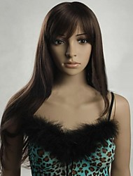 European and American Fashion Look is Double Color Long Straight Hair Wig