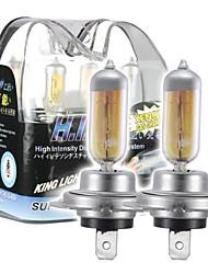 H7 55W super-jaune Xenon HID ampoule halogène phare pour les voitures (DC 12V / paire)