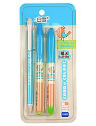 m-26 3 in 1 penna stilografica set (con la matita, penna gel cancellabile)