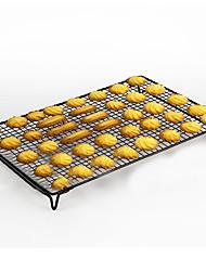 bolinhos de pão de cozinha fio rack com pernas dobráveis 42,5 * 27,5 * 5 centímetros