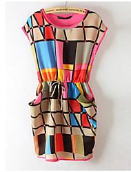 Ереванский женский шифона проверка платье