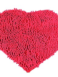 Romantic Heart-Shaped Household Carpet - Red