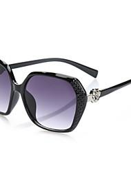 Óculos de Sol Mulheres's Elegant / Modern / Fashion OversizedPreta / Branco / Marrom Claro / Rosa / Vermelho / Vermelho Escuro / Vinho /