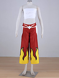 Disfraces Cosplay - Fairy Tail - de Elza Scarlet - Top/Pantalones/Vendaje -