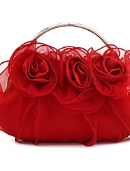 Handbag Luxurious Satin Evening Handbags/Clutches//Mini-Bags With Chain