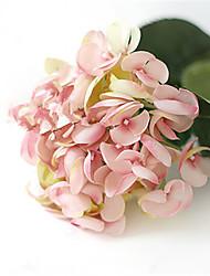 """24"""" Pink Mermaid Hyfrangeas Artificial Flowers"""
