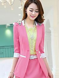 Women's Casual Slim Blazer Suits
