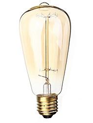 1 Stück LED-Glühlampen E26/E27 40 W 400 LM 3000 K 18 Gelb AC 220-240 V