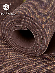 Yoga Mats 13*13*61 Non Slip / Sticky / Non Toxic / Waterproof / Odor Free / Extra Long / Eco Friendly (1/5 inch) 5 White / Green HATHA