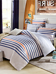 Striped Quilts American Style Bedding Set Queen Size 100% Cotton