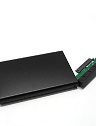 "liga de alumínio usb 3.0 2.5 ""sata gabinete caso HDD externo - preto"