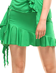 High-quality Milk Fiber Latin Dance Skirts for Women's Performance/Training (More Colors)