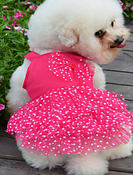 Dresses for Dogs Summer Cosplay XS / S / M / L / XL Cotton
