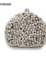 Handcee® Women Formal/Casual Evening Bag Pearl Beaded Clutch Bag