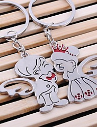 Angel Wedding Key Ring Keychain for Lover Valentine's Day(One Pair)