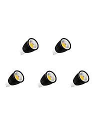 9W GU10 LED Spot Lampen MR16 1 COB 750-800 lm Warmes Weiß / Kühles Weiß Dimmbar AC 110-130 V 5 Stück