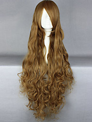 Fashion Cartoon Long Curly Blonde Hair Wigs