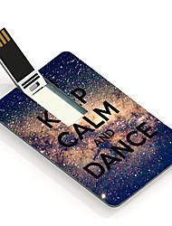32gb сохранять спокойствие и танец дизайн карты USB флэш-накопитель