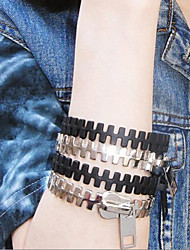 Lucky Star Women's Fashion Zipper Multilayer Bracelet More Colors