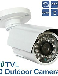 BW® 1/3 SONY HADII CCD Weatherproof IR Bullet 650TVL Indoor/Outdoor CCTV Video Surveillance Security Camera With OSD