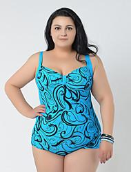 2015 Summer Big Women Beachwear Vintage Swimwear One Piece Bathing Suits For Women Swimsuit Plus Size Swimming Suit