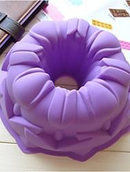 mode grote googoo hoff siliconen taart bakvormen decoreren schimmel keuken taart koken gereedschap gratis verzending (willekeurige kleur)