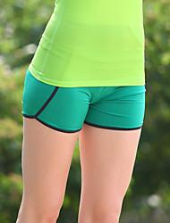 arco-íris da folha de bordo do sexo feminino novas high-end calças moda yoga três calças de fitness três luz azul / cinza / verde