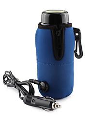Portable Universal 12V Car Heater Bottle Warmer Mini Linear Temperature Programmer Bag (Blue)