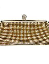 handcee® venta caliente brillante cristal rhinestone mujer bolsa de embrague