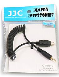 JJC Câble-j j télécommande cordon de connexion pour Olympus Stylus sh-1 1 e-pl6 e-pl7 OM-D E-M5 ii e-m10 e-m1 e-p5