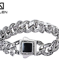 Kalen 2015 Design Fashion Jewelry Men's Jewelry Famous Brand Men's Bracelet