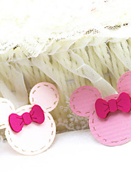 Girls 2 Hair Accessories Bang Stick(Random Color)