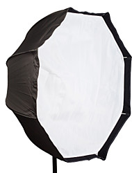 "Flash Cloth Professional 95cm 37"" Octagon Umbrella Softbox Brolly Reflector For Speedlite"