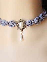 Cute/Party/Work/Casual Alloy/Imitation Pearl/Fabric Choker