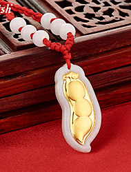 Vintage/Cute/Party Gold/Jade Fashion Pendants