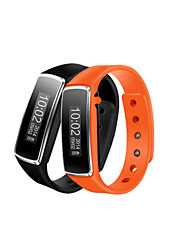 """0,91 """"OLED bracelet Montre Bluetooth de santé bracelet poignet podomètre de sports d'emballage avec le sport&suivi du sommeil"""