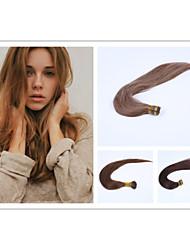 1pc / lot 22inch / 55cm 100s / Packung 0,5 g / s multi geraden Stock spitzen Haarverlängerung grade5a Menschenhaarverlängerung