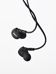 Genuine MINISO Headphone 3.5mm In Ear Canal Super Bass with Microphone Remote for Samsung S4 S5 S6