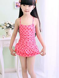 Girl's  Strawberry Swimwear
