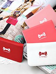 Bolsa de Cartões de Mulher em Pele - Osso de Cachorro