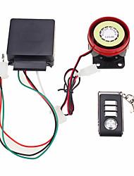 système d'alarme de sécurité antivol de moto télécommande 12v de démarrage du moteur