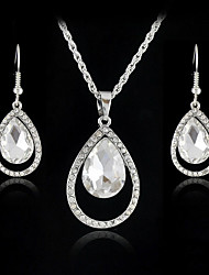 Women's European and American fashion major suit Earrings Necklace Set(1 set)8586-17