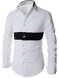 Jett Men's Long Sleeve Casual Shirts (Cotton)