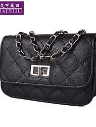 AIKEWEILI®Women's Handbag Fashion Korean Style Quilting Shoulder Bag Casual Chain Style Crossbody Bags Mini Small Bags